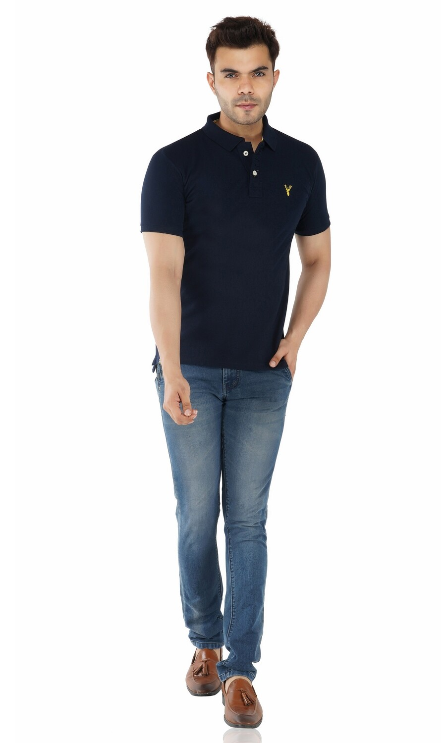 Pro Riders Men's Pique Polo
