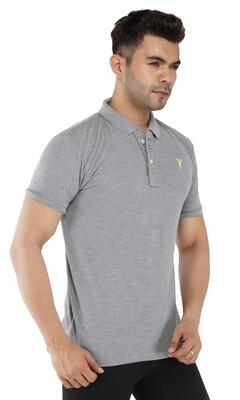 Pro Riders Men's Dark Gray Polo