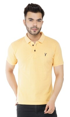 Pro Riders Men's Lemon Polo