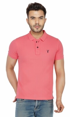 Pro Riders Men's Light Pink Polo