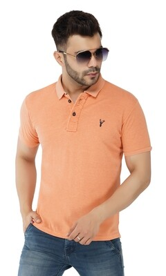 Pro Riders Men's Orange M. Polo