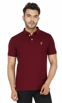 Pro Riders Men's Wine Polo