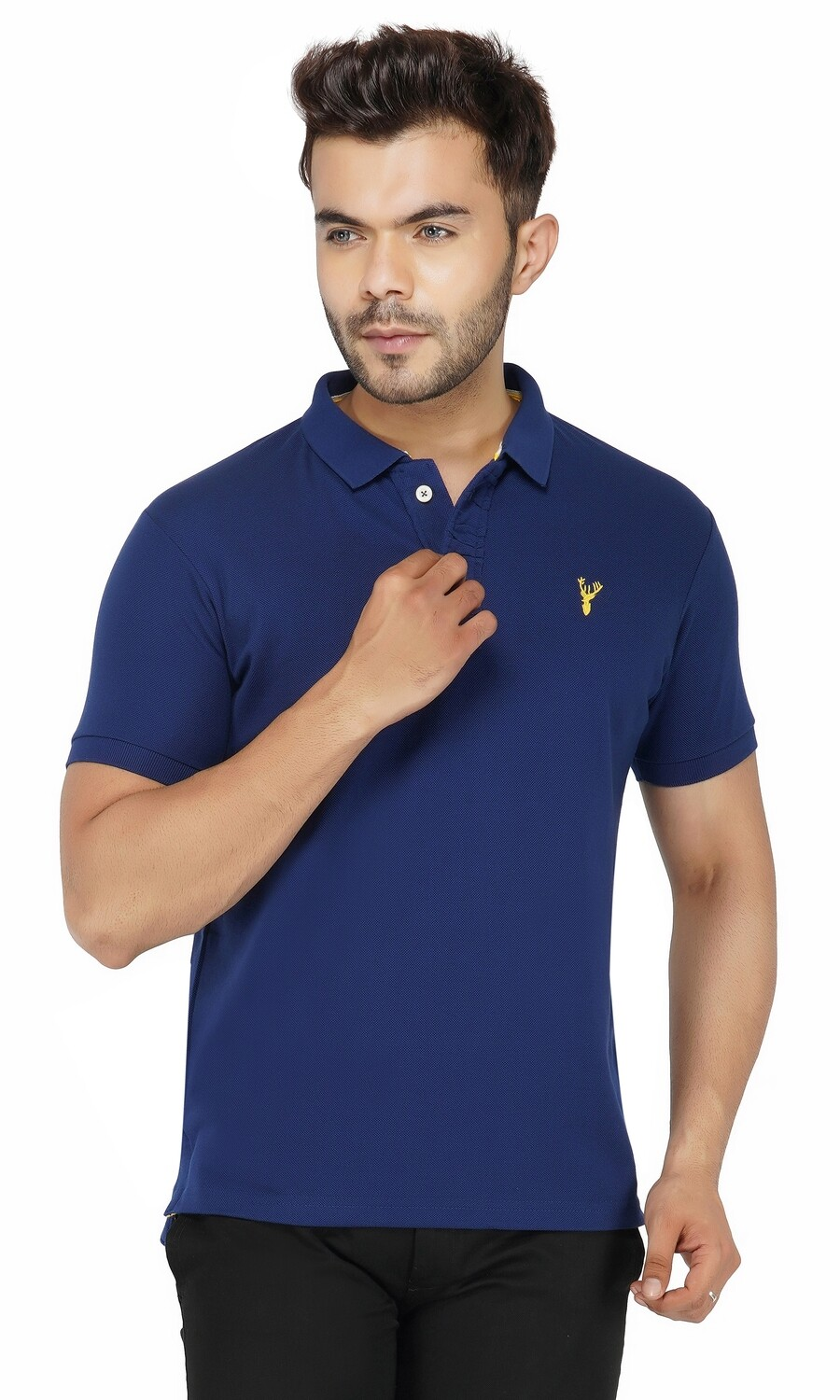 Pro Riders Men's Royal Blue Polo