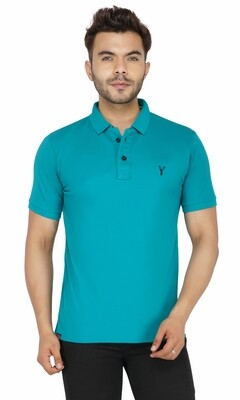 Pro Riders Men's Sea Green Polo