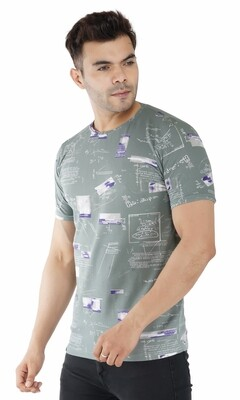 Men's Printed Roundneck
