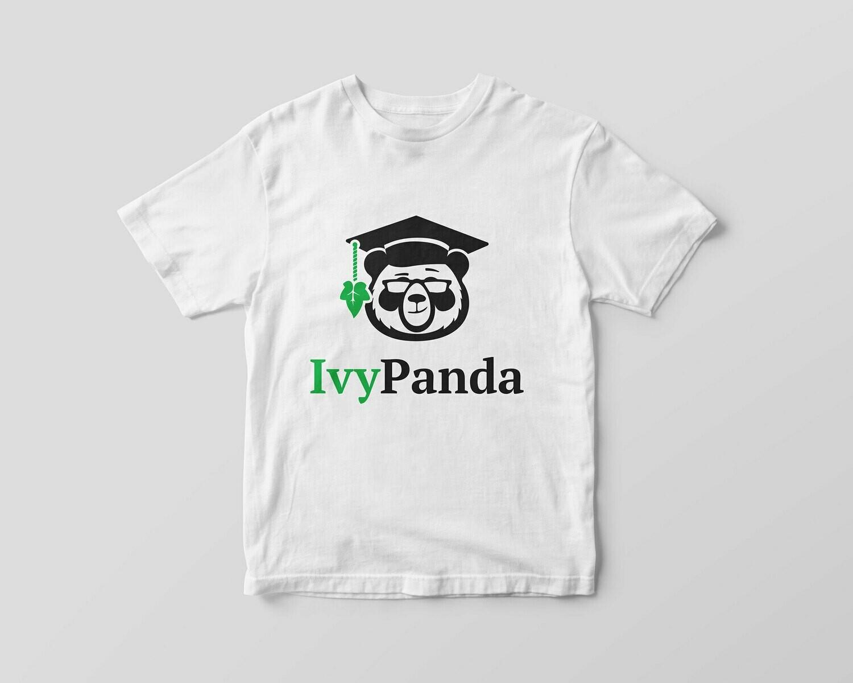 IvyPanda Branded T-shirt White