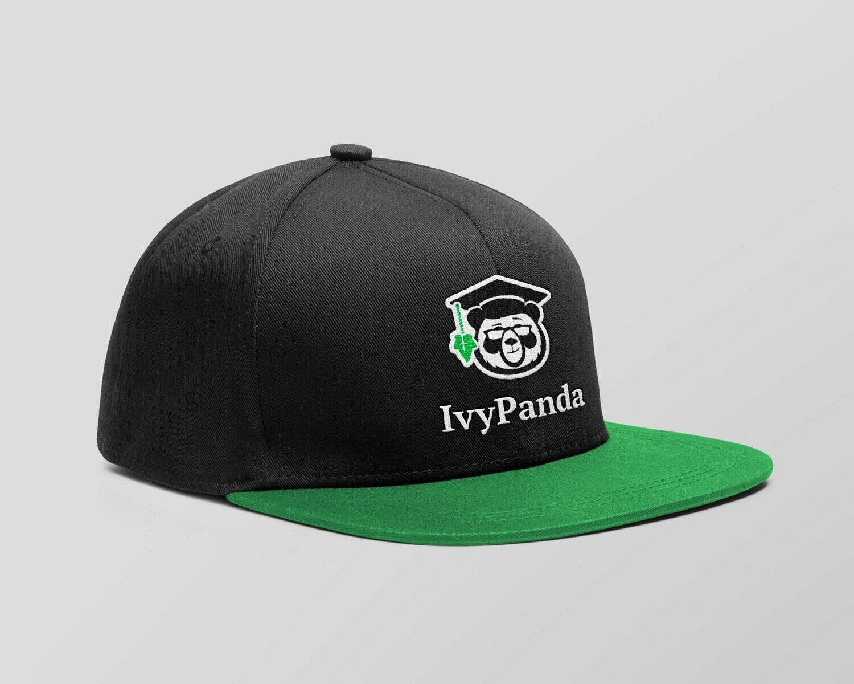 IvyPanda Branded Cap Black