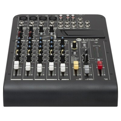 L-PAD 8CX 8 CHANNEL MIXING CONSOLE WITH EFFECTS