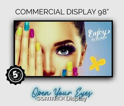COMMBOX DISPLAY 98'4K
