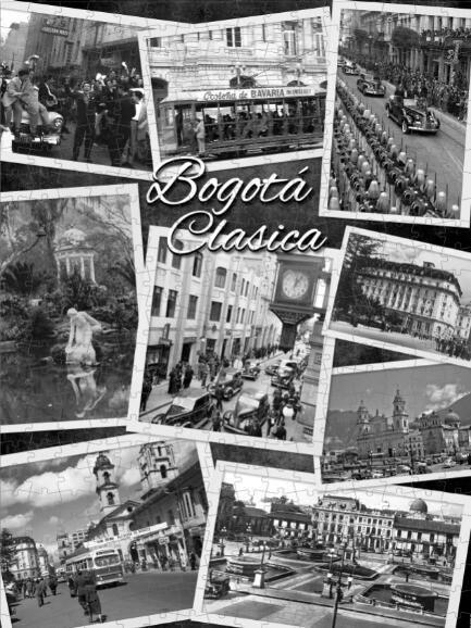 Rompecabezas Personalizado de Bogotá Antigua