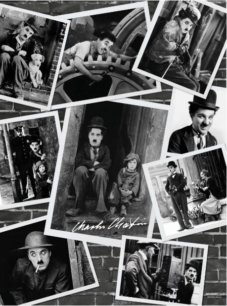 Rompecabezas Personalizado - Charles Chaplin