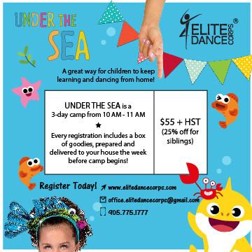 UNDER THE SEA - Virtual Dance Camp