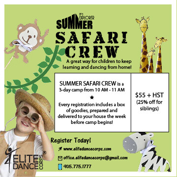 SAFARI CREW - Virtual Dance Camp
