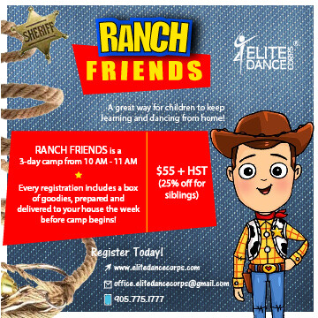 RANCH FRIENDS - Virtual Dance Camp