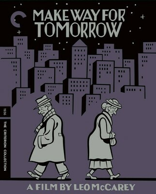 MAKE WAY FOR TOMORROW - BLURAY