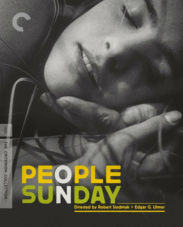 PEOPLE ON SUNDAY - BLURAY