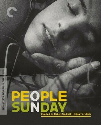 PEOPLE ON SUNDAY - BLURAY