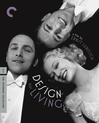 DESIGN FOR LIVING - BLURAY
