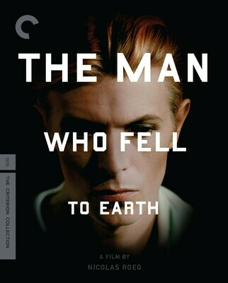 THE MAN WHO FELL TO EARTH - BLURAY