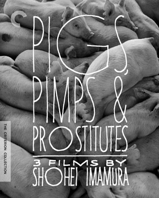 PIGS, PIMPS & PROSTITUTES: 3 FILMS BY SHOHEI IMAMURA - DVD