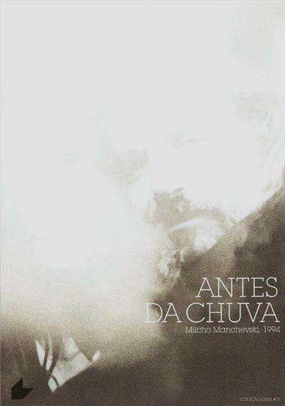 ANTES DA CHUVA - DVD (Últimas unidades)