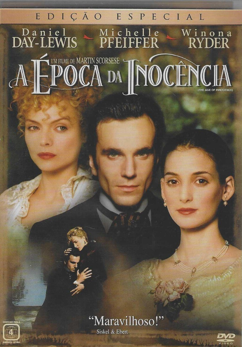 A EPOCA DA INOCENCIA - DVD