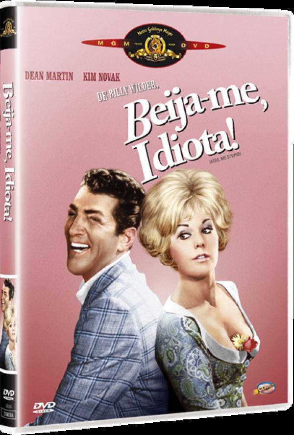 BEIJE-ME IDIOTA - DVD