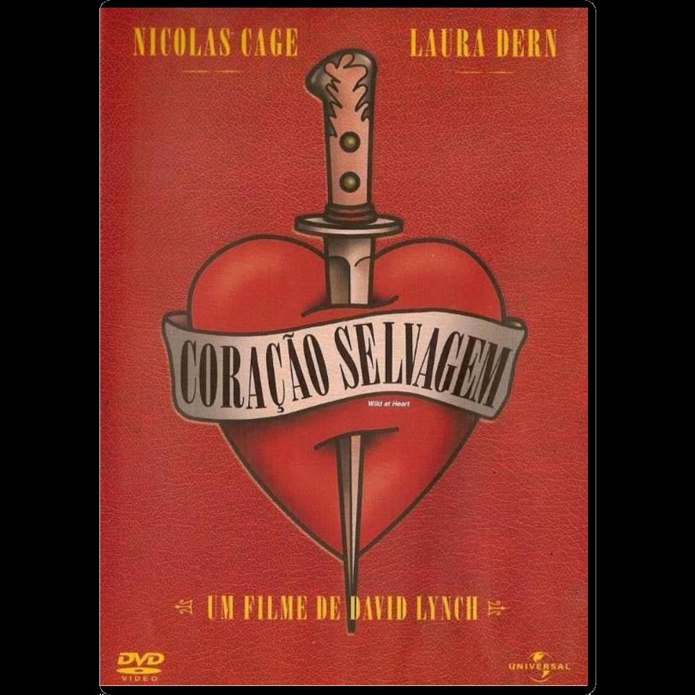 CORACAO SELVAGEM - DVD