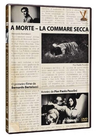A MORTE - LA COMMARE SECCA - DVD