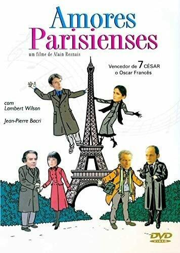 AMORES PARISIENSES - DVD