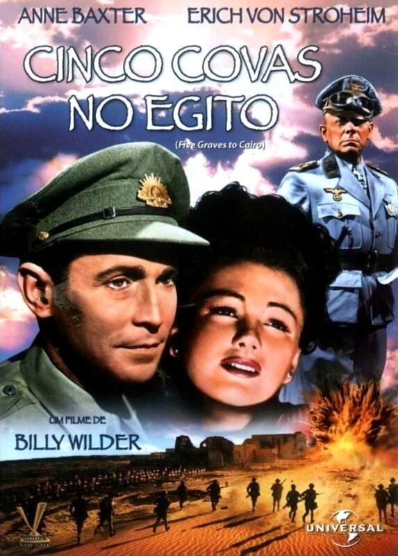 CINCO COVAS NO EGITO - DVD