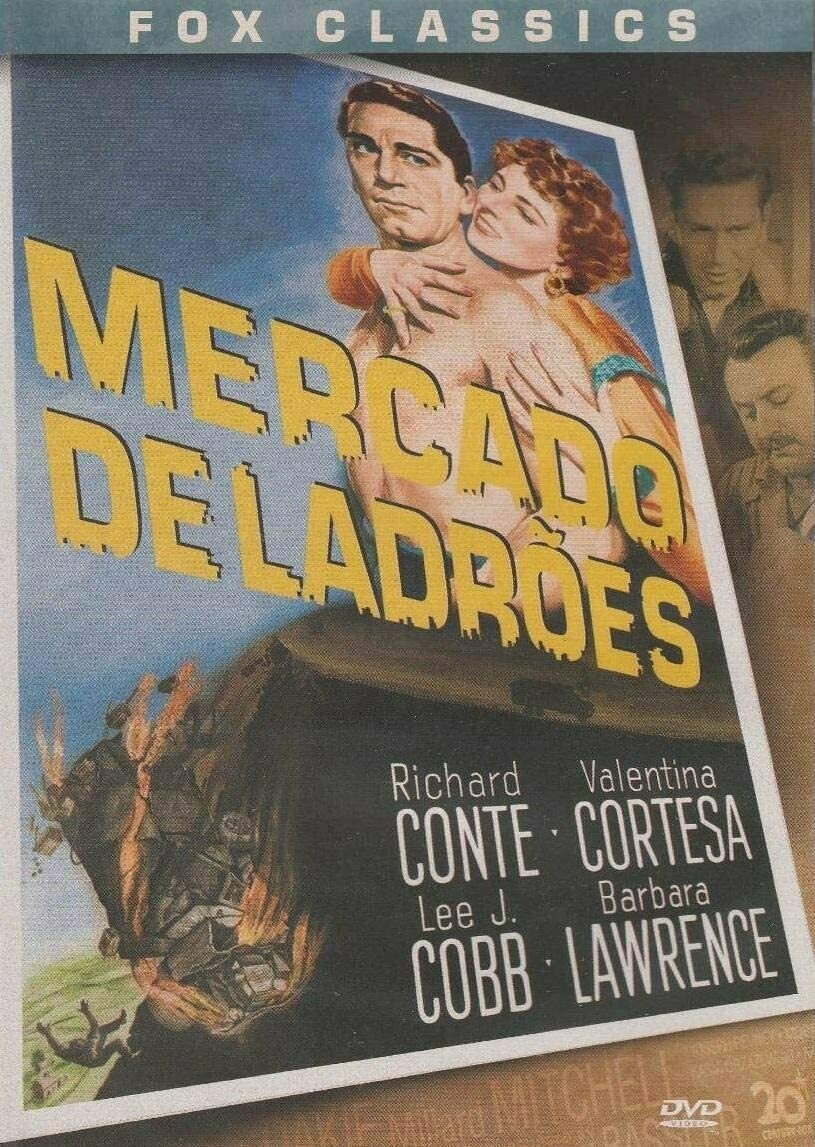 MERCADO DE LADROES - DVD