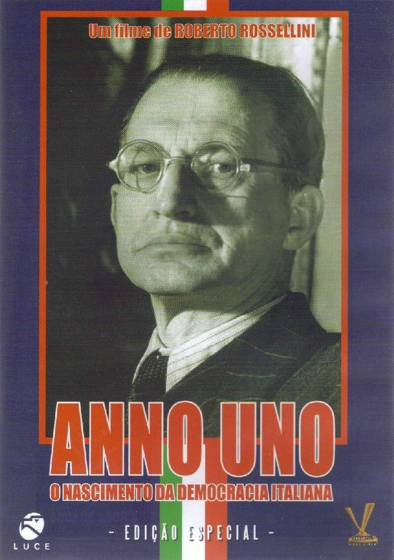 ANNO UNO - O NASCIMENTO DA DEMOCRACIA ITALIANA - DVD