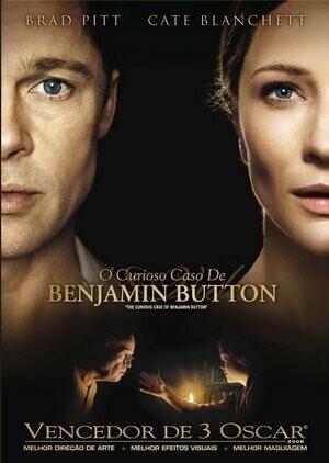 O CURIOSO CASO DE BENJAMIM BUTTON - DVD
