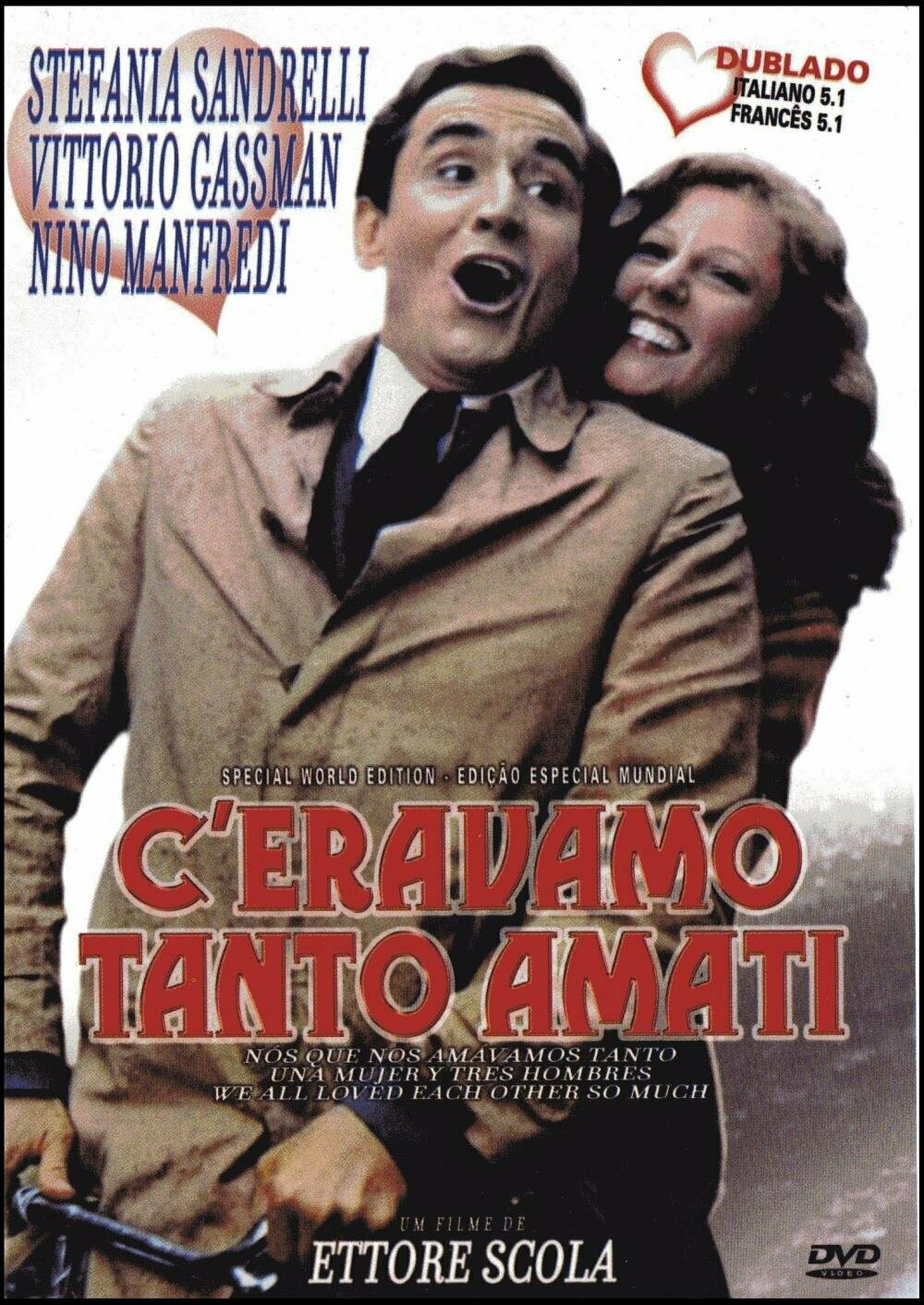 NOS QUE NOS AMAVAMOS TANTO - DVD