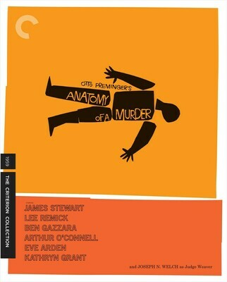 ANATOMY OF A MURDER - BLURAY