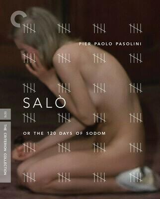 SALO - BLURAY