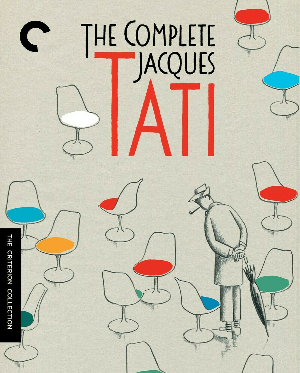 TH COMPLETE JACQUES TATI - BOX SET - BLURAY