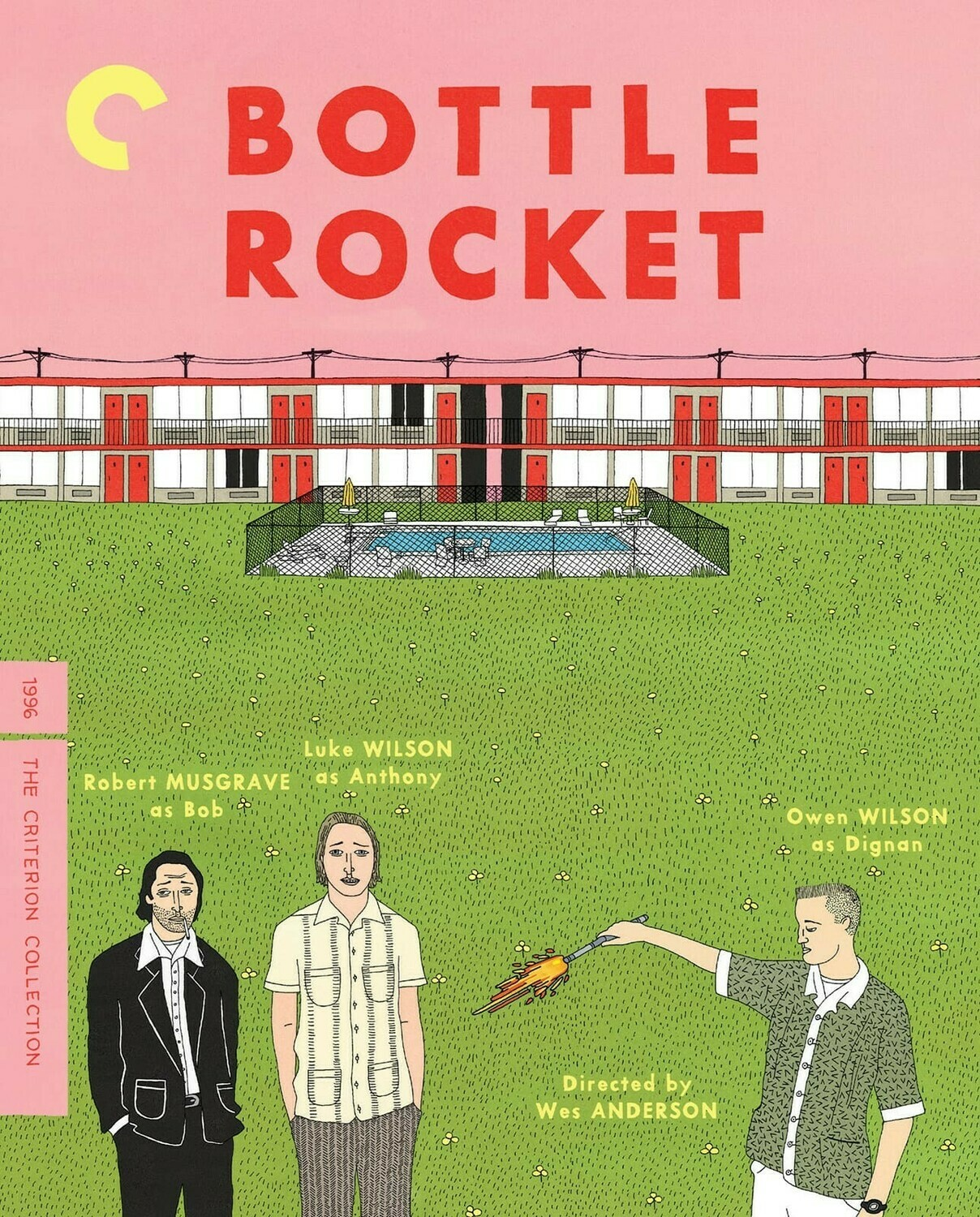 BOTTLE ROCKET - BLURAY