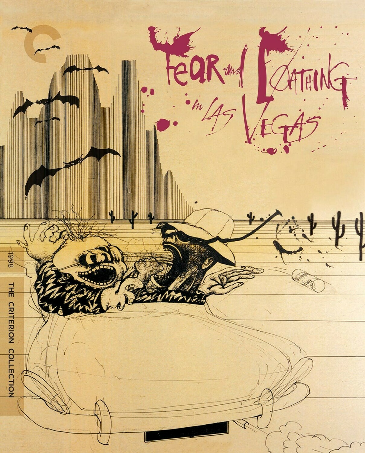 FEAR AND LOATHING IN LAS VEGAS - BLURAY