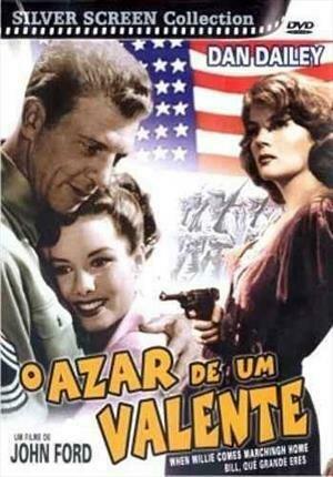 O AZAR DE UM VALENTE - DVD