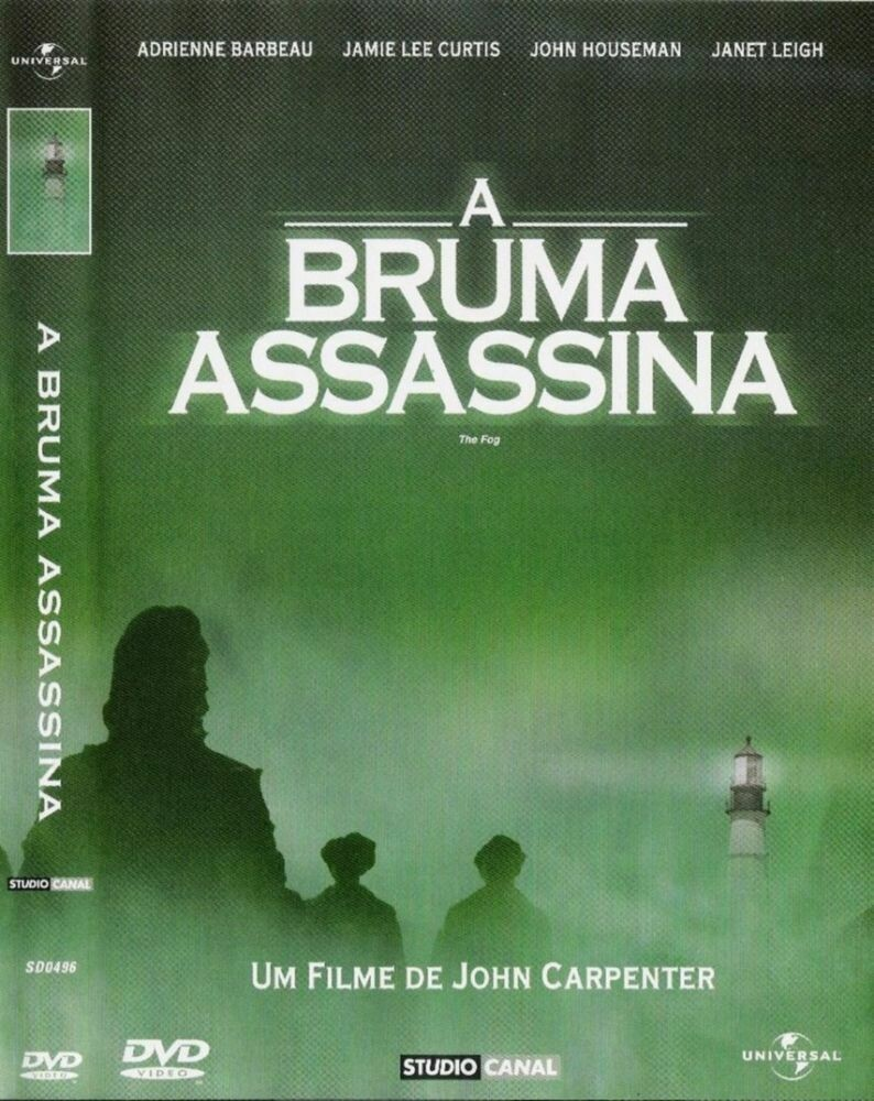 A BRUMA ASSASSINA - DVD
