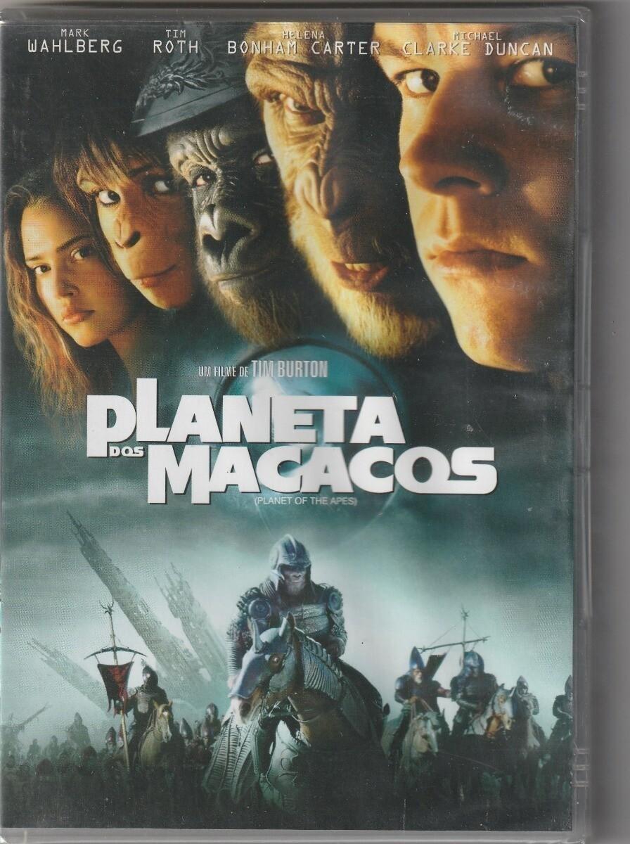 O PLANETA DOS MACACOS - DVD