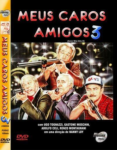 MEUS CAROS AMIGOS 3 - DVD