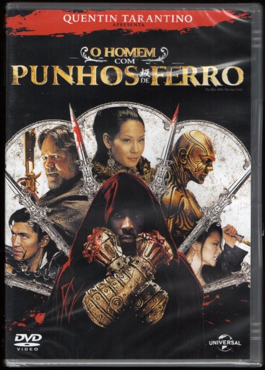 O HOMEM COM OS PUNHOS DE FERRO - DVD