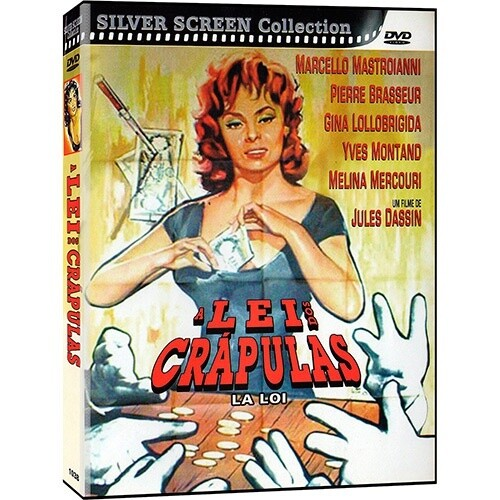 A LEI DOS CRAPULAS - DVD
