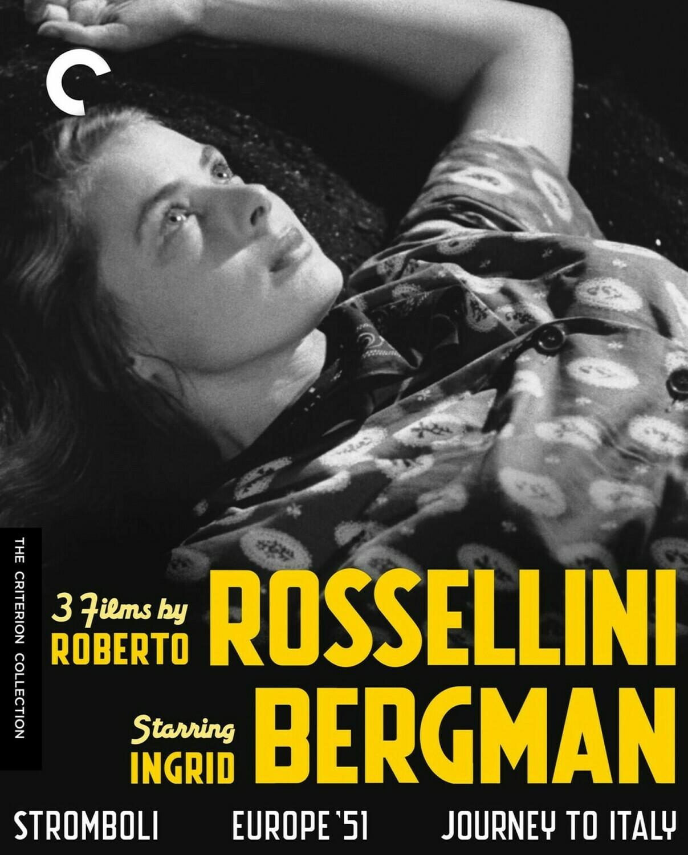 ROSSELLINI BERGMAN - BLURAY BOX