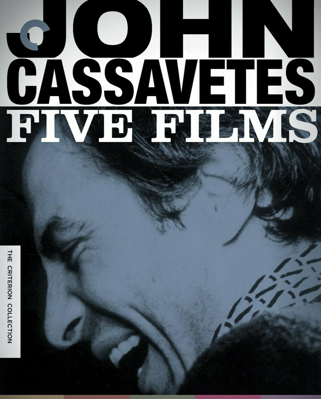 JOHN CASSAVETES - FIVE FILMES - BLURAY