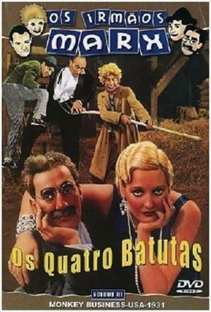 OS QUATRO BATUTAS - DVD