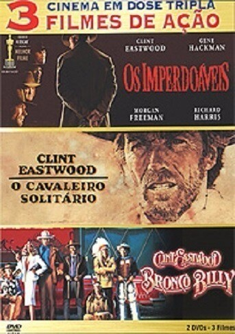OS IMPERDOAVEIS / O CAVALEIRO SOLITARIO / BRONCO BILLY - DVD